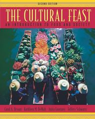 The Cultural Feast 2nd edition 9780534525828 0534525822