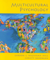 Multicultural Psychology 2nd Edition 9780130191465 0130191469