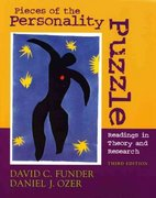Pieces of the Personality Puzzle 3rd Edition 9780393979978 0393979970