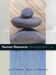 Human Resource Development 5th Edition 9781111804046 1111804044