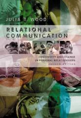 Relational Communication 2nd Edition 9780534561604 0534561608