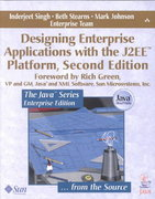Designing Enterprise Applications with the J2EEÂ¿ Platform 2nd edition 9780201787900 0201787903