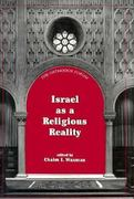 Israel as a Religious Reality 0 9781568210773 1568210779