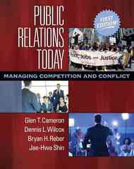 Public Relations Today 1st edition 9780205492107 020549210X