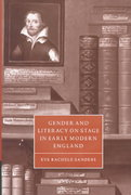 Gender and Literacy on Stage in Early Modern England 0 9780521582346 0521582342