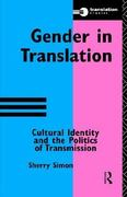 Gender in Translation 1st edition 9780415115360 0415115361