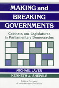 Making and Breaking Governments 0 9780521438360 0521438365