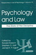 Psychology and the Law 1st edition 9780306459504 0306459507