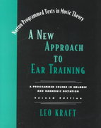 A New Approach to Ear Training 2nd edition 9780393974126 039397412X