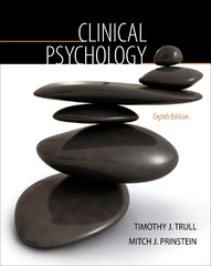 Clinical Psychology 8th edition 9780495508229 0495508225