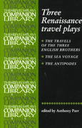 Three Renaissance Travel Plays 1st Edition 9780719058004 0719058007