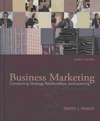 Business Marketing 4th edition 9780073529905 0073529907