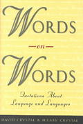 Words on Words 2nd edition 9780226122014 0226122018