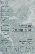 Aging and Communication 0 9780890797112 0890797110