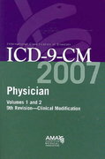 AMA ICD-9-CM Physician Compact Vol. 1 & 2 1st edition 9781579478278 1579478271