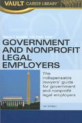 Vault Guide to the Top Government and Non-Profit Legal Employers 0 9781581312140 1581312148