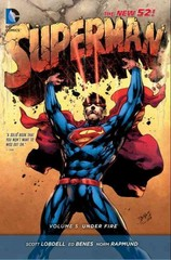 Superman Vol. 5: Under Fire (The New 52) 52th Edition 9781401255428 1401255426