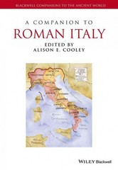 A Companion to Roman Italy 1st Edition 9781444339260 1444339265