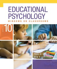 Educational Psychology 10th Edition 9780134041018 0134041011