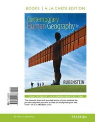 Contemporary Human Geography, Books a la Carte Plus MasteringGeography with eText -- Access Card Package 3rd Edition 9780134015903 0134015908
