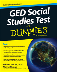 GED Social Studies For Dummies 1st Edition 9781119029830 111902983X