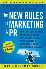The New Rules of Marketing and PR 5th Edition 9781119070665 111907066X
