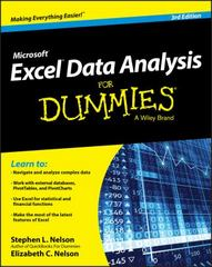 Excel Data Analysis For Dummies 3rd Edition 9781119077206 1119077206