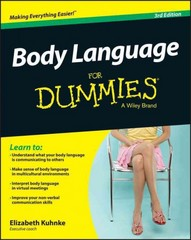 Body Language For Dummies 3rd Edition 9781119067399 1119067391