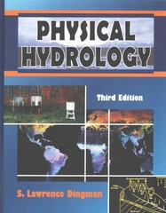 Physical Hydrology 3rd Edition 9781478628064 1478628065