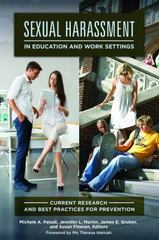 Sexual Harassment in Education and Work Settings 1st Edition 9781440832932 1440832935