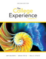 The College Experience Compact 2nd Edition 9780133852158 0133852156