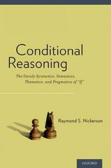 Conditional Reasoning 1st Edition 9780190203009 0190203005