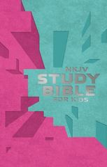 NKJV Study Bible for Kids Pink/Teal Cover 1st Edition 9780718032470 0718032470