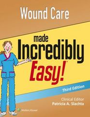 Wound Care Made Incredibly Easy 3rd Edition 9781496306319 1496306317