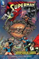 Superman: Krypton Returns (The New 52) 52th Edition 9781401255442 1401255442