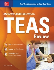 McGraw-Hill Education TEAS Review 1st Edition 9780071841207 0071841202
