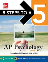 5 Steps to a 5 AP Psychology 2016 7th Edition 9780071846103 0071846107