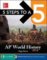 5 Steps to a 5 AP World History 2016 8th Edition 9780071846653 0071846654