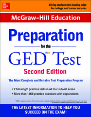 McGraw-Hill Education Preparation for the GED Test 2nd Edition 2nd Edition 9780071847216 0071847219
