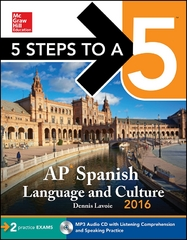5 Steps to a 5 AP Spanish Language and Culture 2016 7th Edition 9780071849487 0071849483