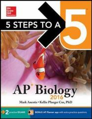 5 Steps to a 5 AP Biology 2016 8th Edition 9780071850339 0071850333