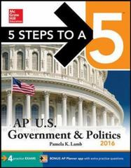 5 Steps to a 5 AP US Government & Politics 2016 7th Edition 9780071850544 0071850546