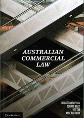 Australian Commercial Law 1st Edition 9781107674578 1107674573