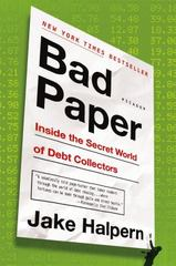 Bad Paper 1st Edition 9781250076335 1250076331