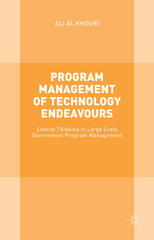 Program Management of Technology Endeavours 1st Edition 9781137509512 1137509511