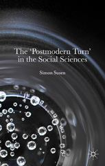 The 'Postmodern Turn' in the Social Sciences 1st Edition 9780230579293 0230579299