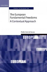The European Fundamental Freedoms 1st Edition 9780198727729 0198727720