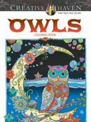 Creative Haven Owls Coloring Book 1st Edition 9780486796642 0486796647