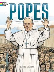 Popes Coloring Book 1st Edition 9780486792361 0486792366