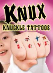 KNUX -- Knuckle Tattoos for Girls 1st Edition 9780486793900 0486793907